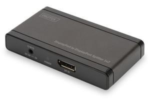 Digitus Rozdzielacz/Splitter DisplayPort 4K 1x2 - 2874992941