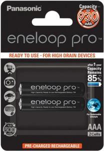 Panasonic Akumulatory AAA Eneloop Pro 950mAh 2szt. - 2874992975