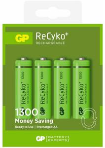 GP Batteries Akumulatorek AA Recyko+ 1300mAh 4 szt. - 2874992988