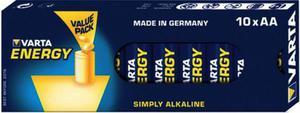 Varta Baterie alkaliczne Energy AA 10 szt. - 2874993021