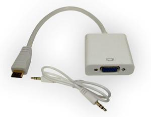 Digitus Adapter mini HDMI do VGA+audio DA-70462 - 2874993057