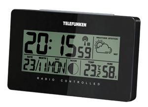 Stacja pogodowa Telefunken FUD-50-B czarna - 2850899217