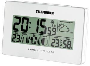 Stacja pogodowa Telefunken FUD-50-W biała - 2850899218