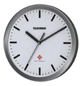 Zegar ścienny Telefunken FWU-25-B WI biały - 2850899225