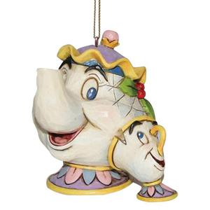 Zawieszka Pani Imryk bajka Piękna i Bestia Mrs Potts & Chip Hanging Ornament A21431 Jim Shore figurka ozdoba świąteczna - 2838430635