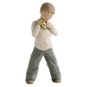 Chłopiec o złotym sercu Heart of Gold - Boy 26142 Susan Lordi Willow Tree - 2844339540