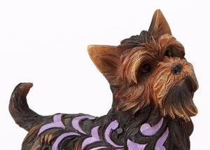 Pies Izzie (Yorkshire Terrier) jork 4056959 Jim Shore figurka ozdoba świąteczna - 2846499635