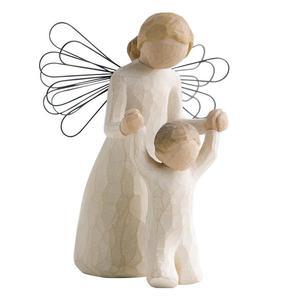 Anioł stróż opiekun dziecka Guardian Angel 26034 Susan Lordi Willow Tree figurka ozdoba świąteczna - 2846499642