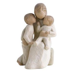 Matczyna miłość pełna spokoju Quietly 26100 Willow Tree figurka ozdoba świąteczna - 2855967701