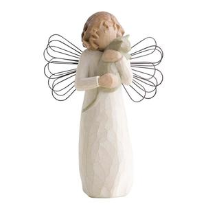 Z pomocą miłości Anioł z kotkiem With affection 26109 Willow Tree figurka ozdoba świąteczna - 2855967703