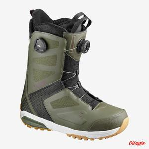 Buty snowboardowe Salomon DIALOGUE WIDE JP Dark OliveFigBlack 20192020