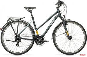 Rower Cube Touring Trapeze grey´n´yellow 2021 - 2903642012