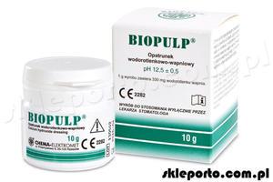 Biopulp 10 g - opatrunek wodorotlenkowo-wapniowy - 2855534371