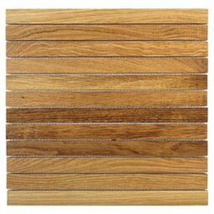 Etnik Oak Li. Mozaika Drewniana 31,7x31,7 - 2833299098