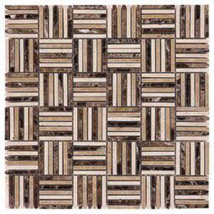 Emperador Tatami Mix 48 Mozaika Kamienna 30,5x30,5 - 2877828465