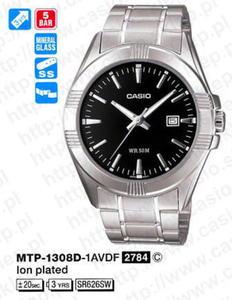 Zegarek Casio MTP-1308D-1A - 2856407970