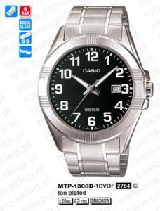 Zegarek Casio MTP-1308D-1B - 2856407971
