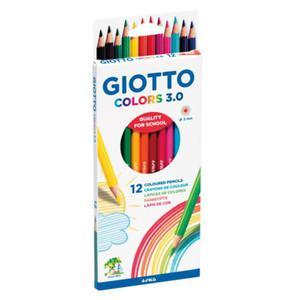 Kredki ołówkowe GIOTTO Colors 3.0 - 12 szt. - 2857028842