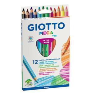Kredki ołówkowe GIOTTO Mega Tri - 12 szt. - 2857028844