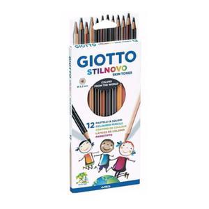 Kredki ołówkowe GIOTTO Stilnovo Skin Tones - 12 szt. - 2857028845
