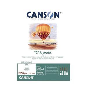 "Szkicownik ""C"" a grain CANSON A3 224g - 2865174932"