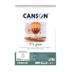 "Szkicownik ""C"" a grain CANSON A3+ 224g na spirali - 2865872501"