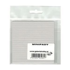 Minipady, pianka dekoracyjna 3D - kwadraty 5x5x2mm - 2860078769