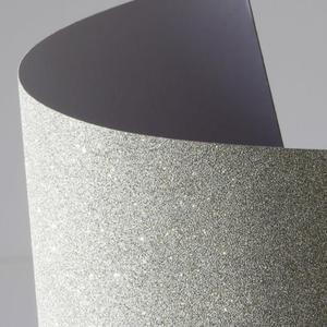 Arkusz samoprzylepny brokatowy A4 - srebrny - 2860079362