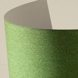 Arkusz samoprzylepny brokatowy A4 - zielony - 2860079365