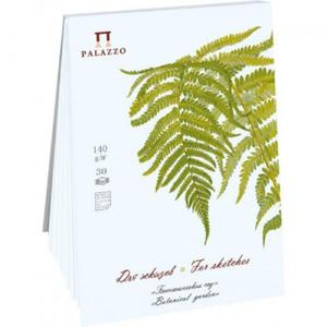"Blok szkicowy Palazzo Botanical Garden ""Papro - 2863274425"