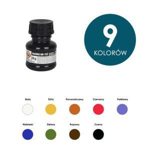 Tusz kreślarski rysunkowy Koh-I-Noor 20g - mix kolorów - 2824732598