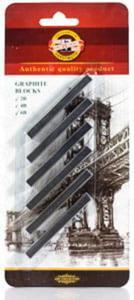 Zestaw sztyftów Koh-I-Noor - 6 sztuk - GRAFIT - 2824732691