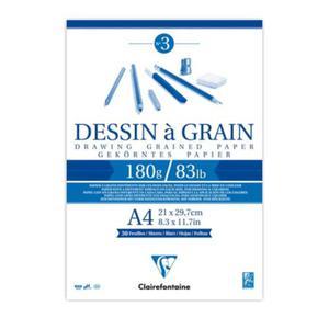 Szkicownik Dessin a Grain Clairefontaine - 180g, A4 - 2824732697