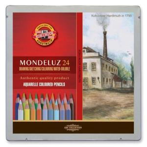 Kredki akwarelowe Mondeluz Koh-I-Noor - 24 kol. - Pejzaże - 2824733977