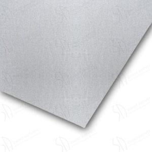 Papier dekoracyjno - wizytówkowy metalizowany Pollen 21x29,7cm - SILVER - 120mg/m2 - 2824734032