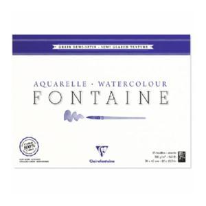 Blok do akwareli Clairefontaine Fontaine Demi Satine 36x48 - 2824729340