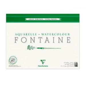 Blok do akwareli Clairefontaine Fontaine Torchon 30x40 - 2824729343