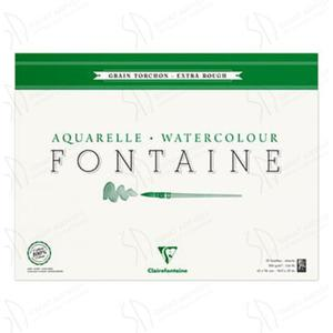 Blok do akwareli Clairefontaine Fontaine Torchon 42x56 - 2824729345