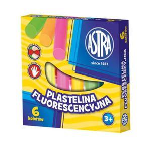 Plastelina Astra 6 kolorów - fluo - 2824734932