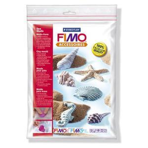 Forma, szablon do odlewów Fimo - muszle - 2824729429