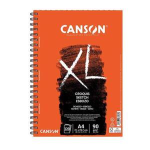 Szkicownik Croquis XL Canson - na spirali - 90g, 120ark., A4 - 2833955040