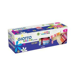 Farby akrylowe Giotto Decor - 12x25ml - 2834994437