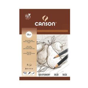 Blok rysunkowy szkicowy Canson - 120g - A4 - 2824729439