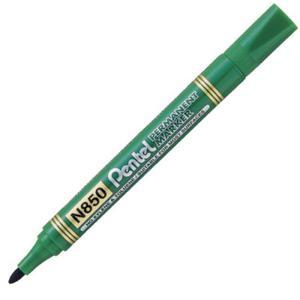 Marker permanentny Pentel zielony okrągły - 2846220796
