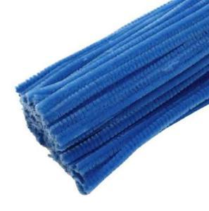 Druciki kreatywne, wyciory 30cm - zestaw 25 szt. - niebieski - 2853226966