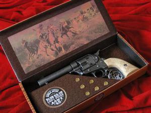 COLT PEACE MAKER 1873r SINGLE ACTION ARMY CAL 45 krótki stalowy kość - 2822871711