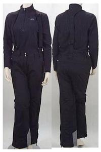 Spodnie Damskie Narciarskie 9332 czarne -XL- - 2827267025