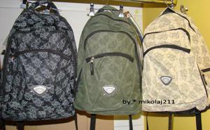 Plecak TrendHouse 6870 kolory 3 sztuki mix - 2827267090