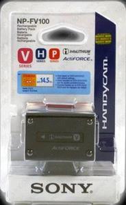 SONY Bateria NP-FV100 akumulator do BC-TRV - NP-FV100 - 2827267147