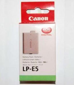 Canon Bateria LP-E5 do Canon DSLR EOS 500D 450D 1000D - 2827267169